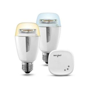 Sengled Element Plus E27 Led Lampe - Als Starter Set - Funktioniert mit Alexa, Google Assistant, SmartThings, Qivicon