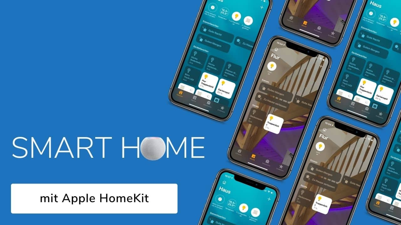 Wie funktioniert Smart Home mit Apple HomeKit und Thread