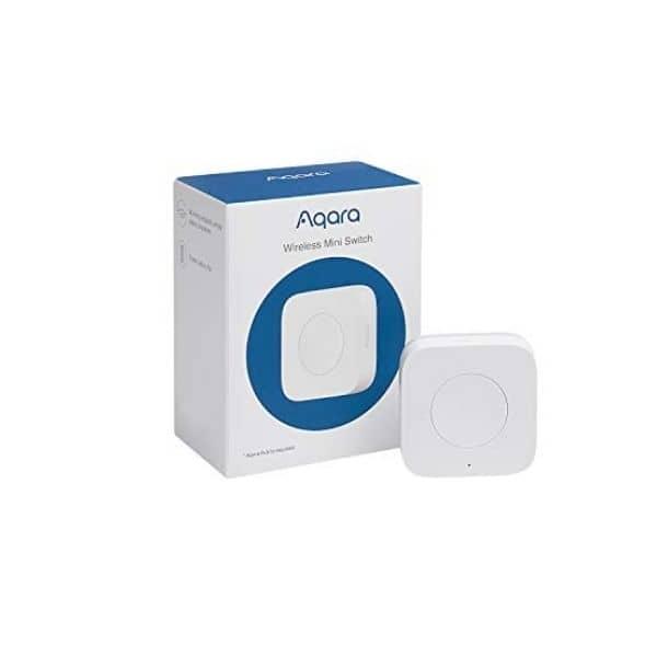 Aqara Mini Lichtschalter - Modell WXKG11LM - ZigBee kompatibler Lichtschalter - Benötigt eine Aqara Steuerzentrale