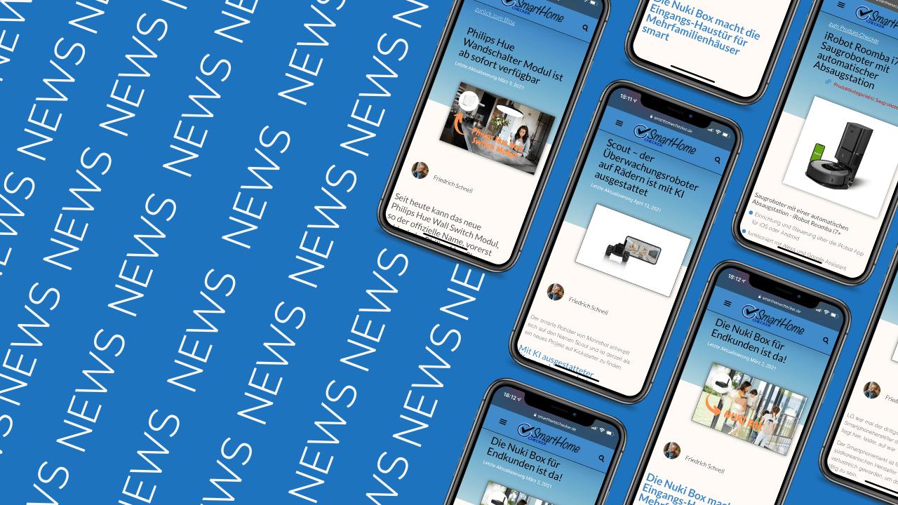 Smart Home News zu Systemem, Gadgets, Geräten und vielem mehr - SmartHomeChecker