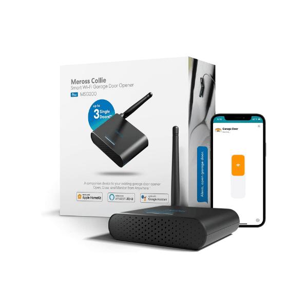 meross WLAN Garagentoröffner - Kompatibel mit Apple HomeKit, Alexa, Google Assistant