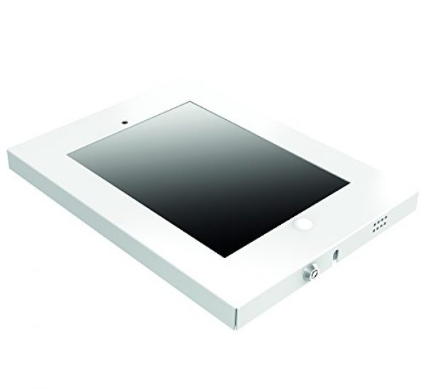 PureMounts - iPad Wandhalterung (Modell PDS-5701) - Für Aufputz-Montage - In schwarz, weiß und silber verfügbar