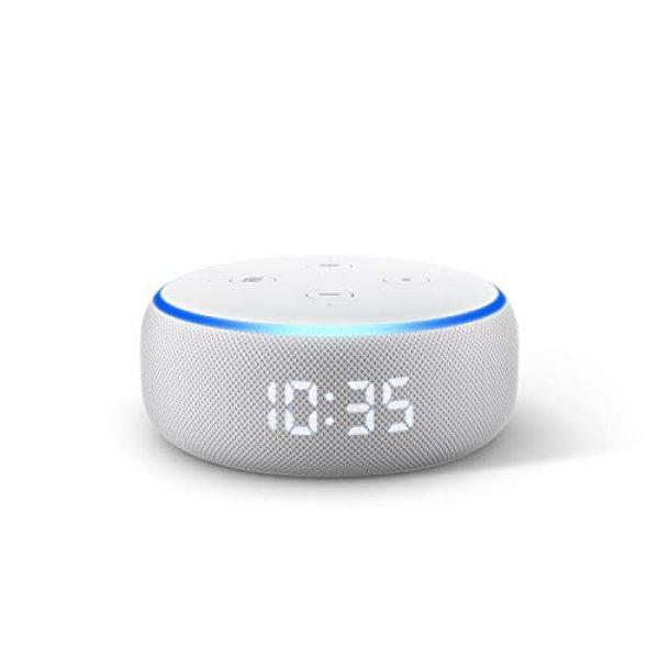 Echo Dot (3.Gen.) mit Uhr