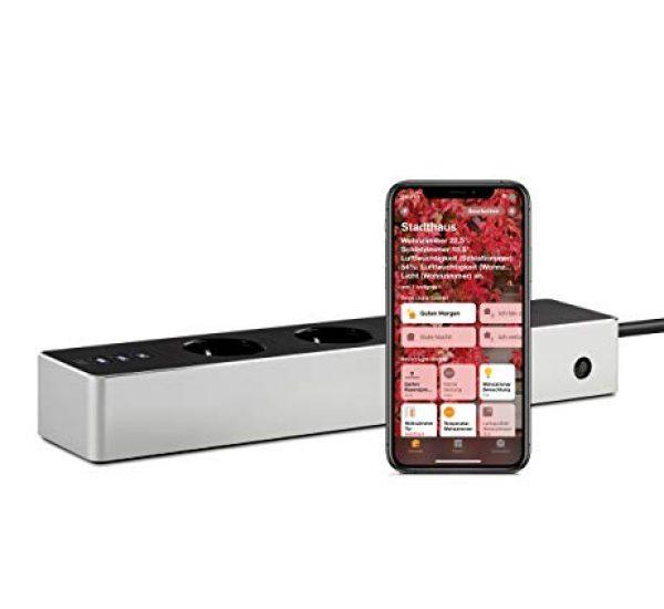 eve Energy Strip - Smarte Dreifach-Steckdosenleiste - Funktioniert mit Apple HomeKit