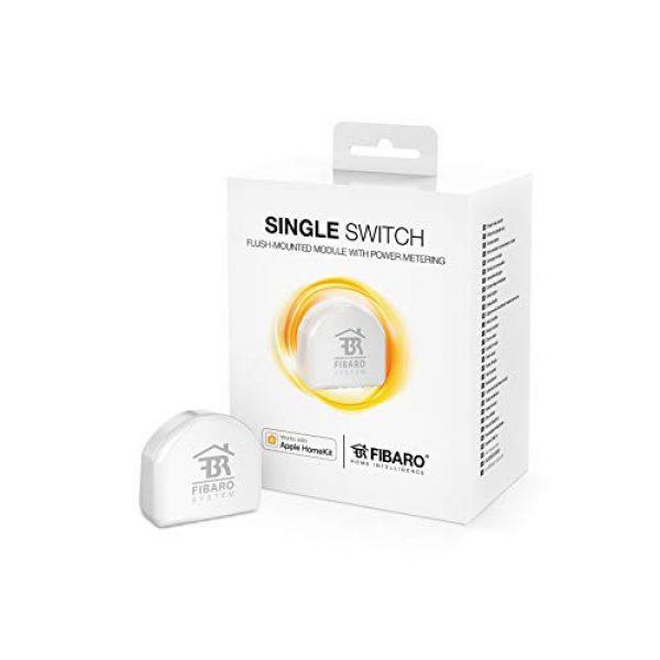 Fibaro HomeKit Single Switch - Unterputz Wandmodul - Funktioniert mit Apple HomeKit