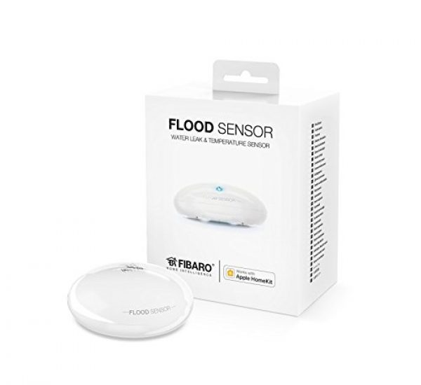 Fibaro HomeKit Flood-Sensor - Wassersensor - Funktioniert mit Apple HomeKit