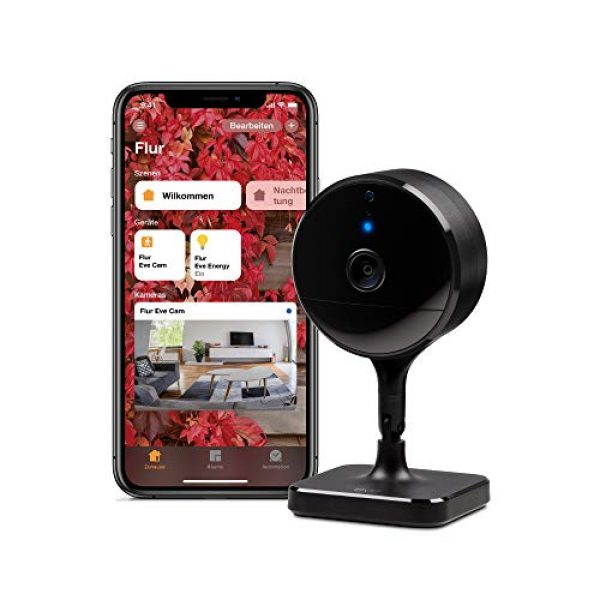 eve cam - Smarte Innenkamera - HomeKit kompatible Überwachungskamera
