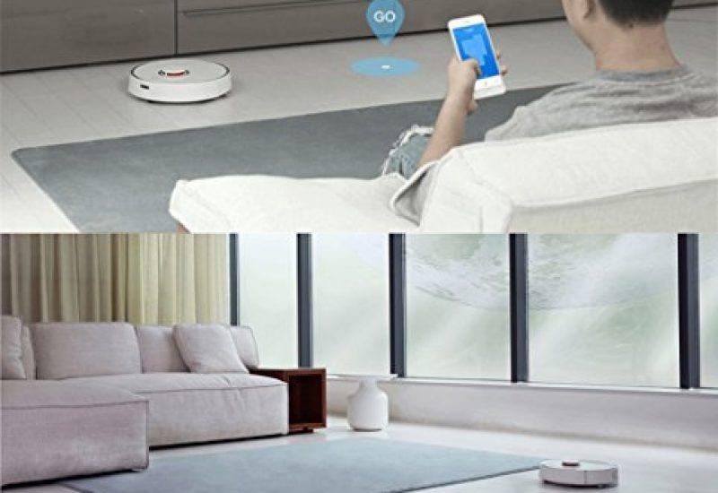 RoboRock S50 Xiaomi Roboter Staubsauger 2 Sweep-Mop APP Steuerung Smart Geplante 5200Am 2000Pa Internationale Version Weiß - 5