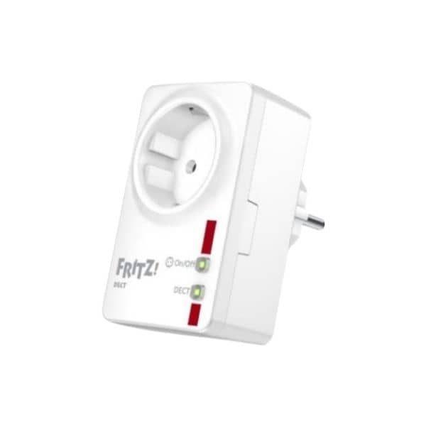 AVM FRITZ!DECT 200 - Eine smarte Funk-Steckdose für den Innenbereich - Funktioniert direkt über die Fritz!Box