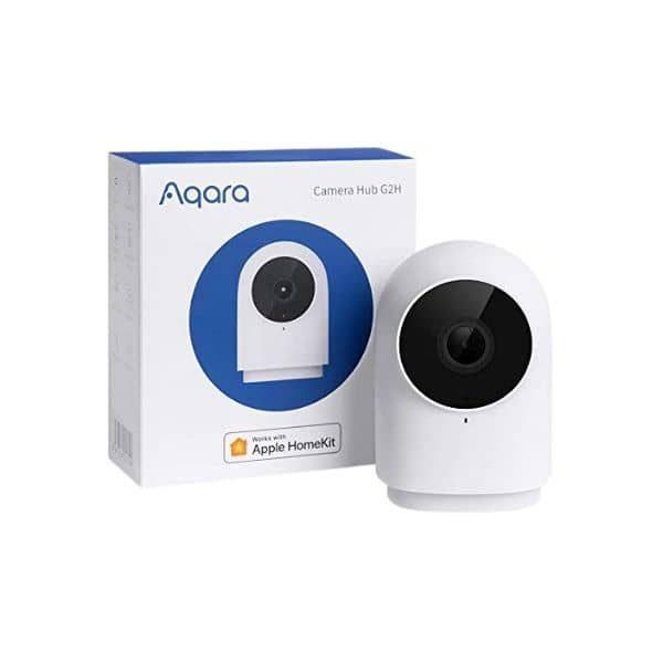 Aqara G2H Überwachungskamera & Hub in einem - eine ZigBee Steuerzentrale und Kamera in einem Produkt - Funktioniert mit HomeKit