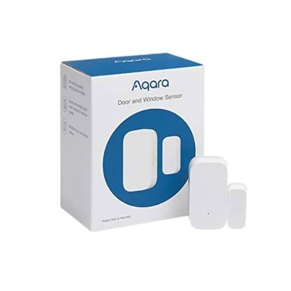 Aqara Tür- und Fenstersensor - Modell MCCGQ11LM - Funktioniert mit Apple HomeKit - benötigt eine ZigBee Steuerzentrale