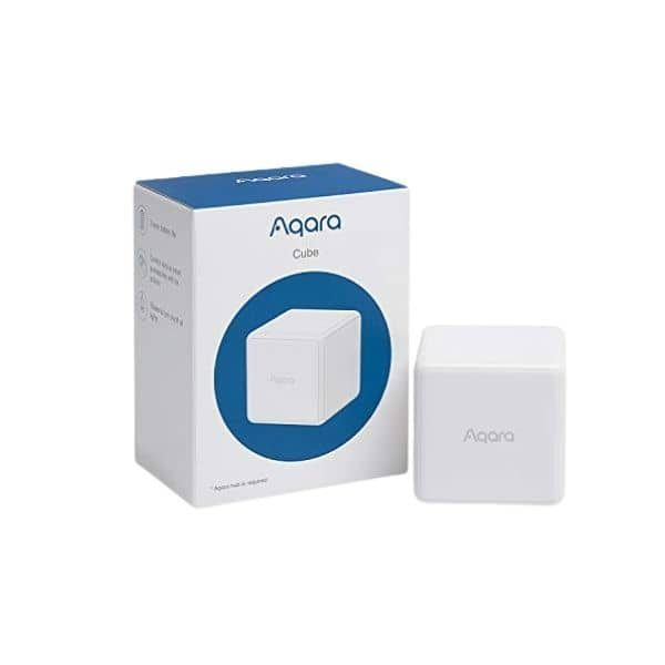 Aqara ZigBee Cube - Modell B07S9G5MR6 - benötigt eine ZigBee Steuerzentrale - funktioniert mit Apple HomeKit