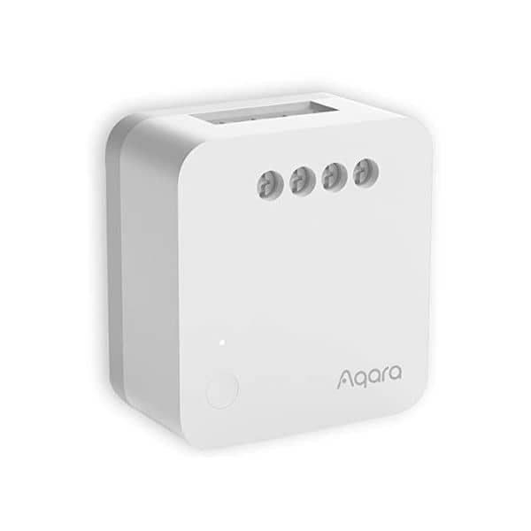 Aqara ZigBee Einzelsteuermodul T1 ohne Neutralleiter - benötigt eine ZigBee Steuerzentrale - funktioniert mit Apple HomeKit