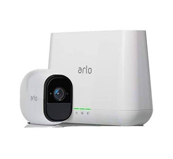 Arlo Pro Smart Home Überwachungskamera - Funktioniert mit Alexa, Google Assistant, HomeKit - Verbindung über WLAN-Netz