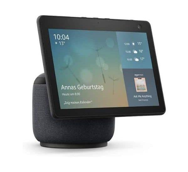 Der neue Echo Show 10 - Der dritten Generation - Mit drehbarem Display und Kamera, ZigBee Hub ist bereits integriert