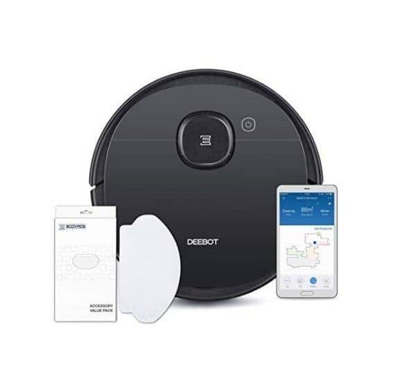 ECOVACS DEEBOT OZMO 950 - Saug- & Wischroboter - Funktioniert mit Amazon Alexa und Google Assistant - Verbindet sich per WLAN