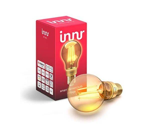 Innr Filament LED Lampe Vintage im Test