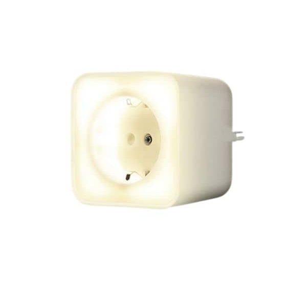 LEDVANCE Steckdose mit Nachtlicht - WLAN Zwischenstecker-Schalter benötigt keine Steuerzentrale & funktioniert mit Alex & Google Assistant
