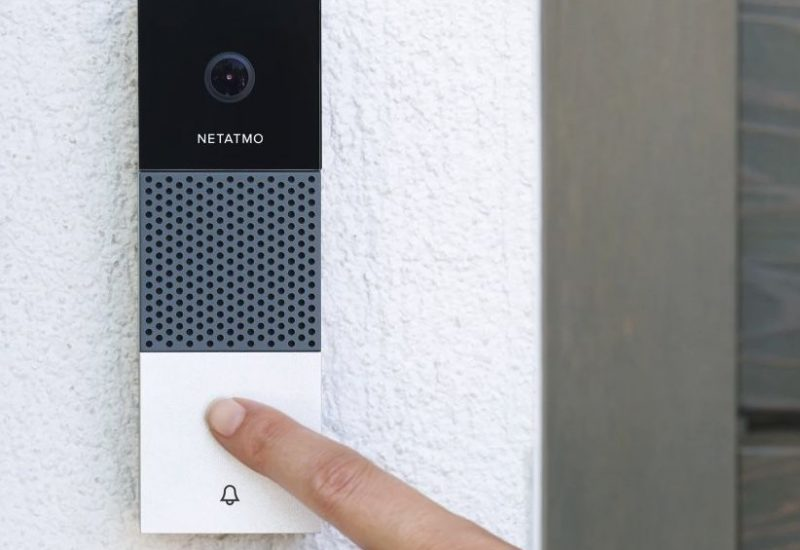 Netatmo smarte WLAN HomeKit Videotürklingel