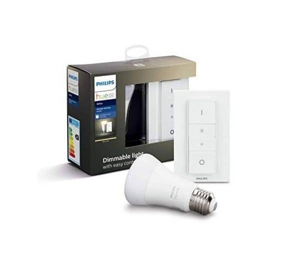 Philips Hue White E27 LED und Wireless Dimming - im Set