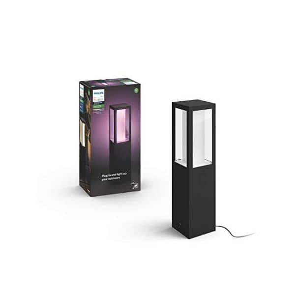 Philips Hue White and Color Ambiance LED Sockelleuchte Impress (Basis Set)