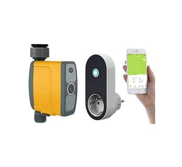 Royal Gardineer - Smarte Gartenbewässerung - Verbindung läuft über 433 MHz und WLAN - die Steuerung erfolgt mit der App Elesion