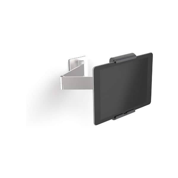 Durable Tablet schwenkbare Wandhalterung- Universal-Halterung aus Aluminium für iPad und Android Tablets bis 13 Zoll