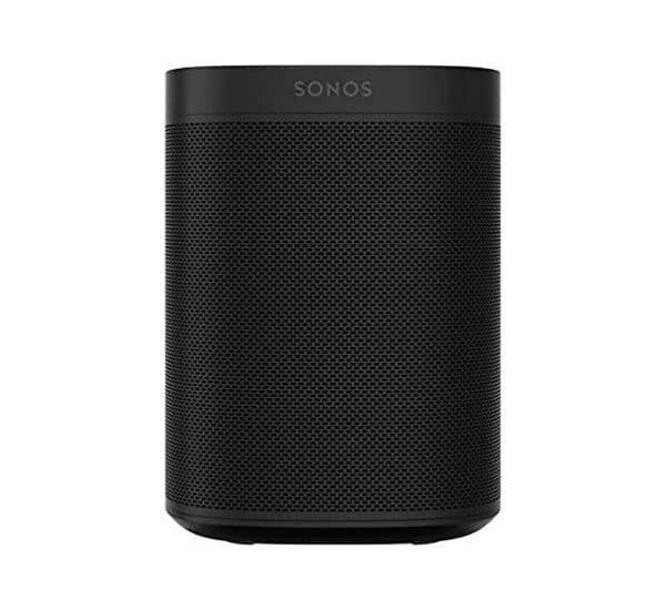 Sonos One Smart Speaker - Funktioniert mit Amazon Alexa, Google Assistant und AirPlay 2 | WLAN 2,4 GHz