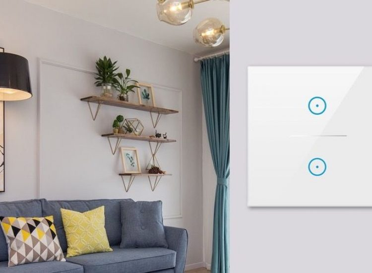 WLAN Lichtschalter, Alexa und Google Home kompatibel