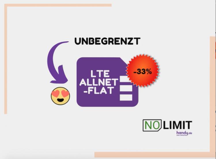 No-Limit Tarif von handy.de