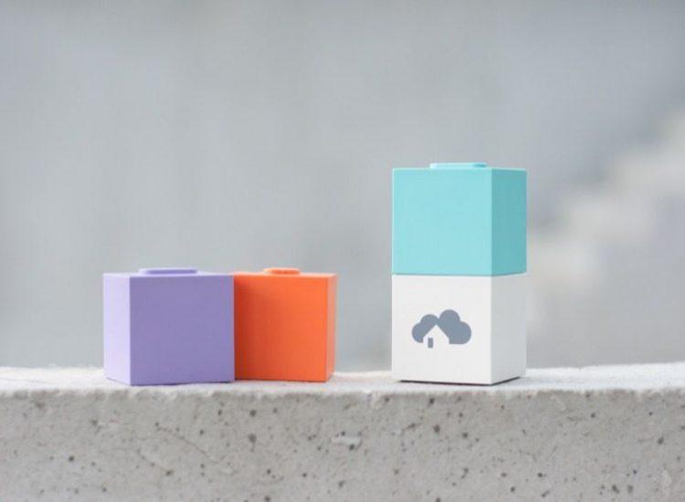 homee Modulare Smart Home Zentrale, kann beliebig mit Z-Wave, ZigBee und EnOcean Cubes erweitert werden
