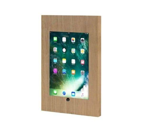 iPad Wandhalterung TabLines aus Echtholz- Modell TSG042O