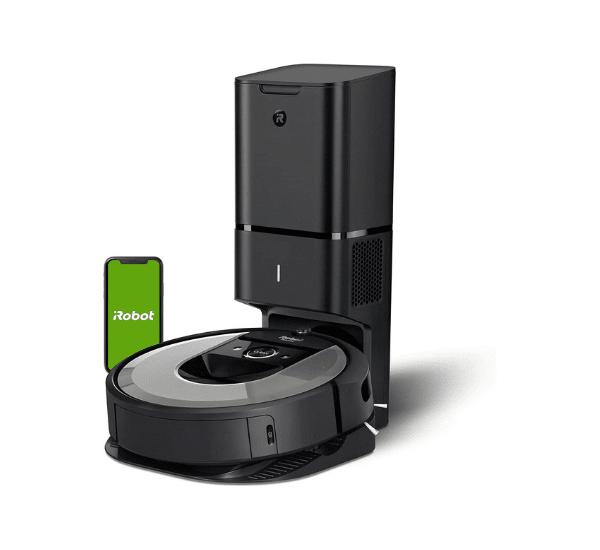 iRobot Roomba i7+ Saugroboter mit automatischer Absaugstation - Modell i7556 - Funktioniert mit Alexa, Google Assistant & IFTTT