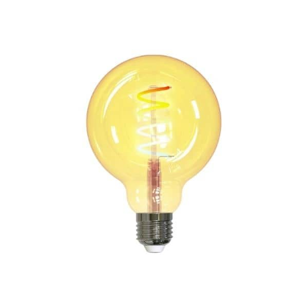 tint E27 LED-Lampe – Globeform Retro Gold white und ambiance mit vilen ZigBee Systemen kompatibel - Hue Bridge, homee mit ZigBee Cube, Echo's