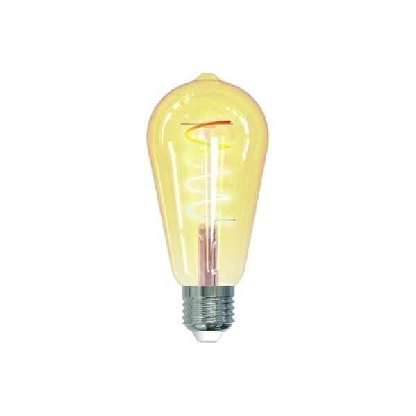 Die tint ZigBee E27 LED-Lampe bekommst du in der Edison Retro Gold white & ambiance Edition - Funktioniert mit homee, Hue Bridge u.a.