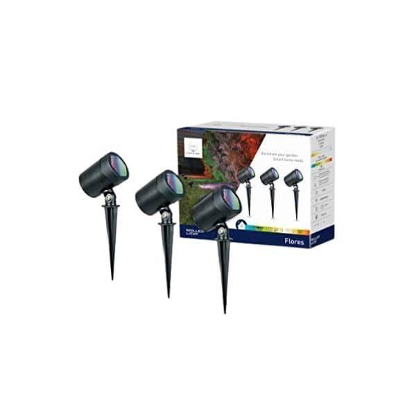 tint LED Gartenspots - Als 3er Set - Für smarte Gartenbeleuchtung - Funktioniert mit ZigBee Hubs wie Hue Bridge, Echo's mit Hubs u.v.w.