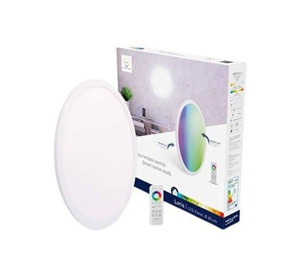 tint white & color ZigBee LED-Panel Loris sorgt für Lichtakzente in deinen Wohnräumen - Hue Bridge, Echo's mit Hub u.v.w. Systemen kompatibel